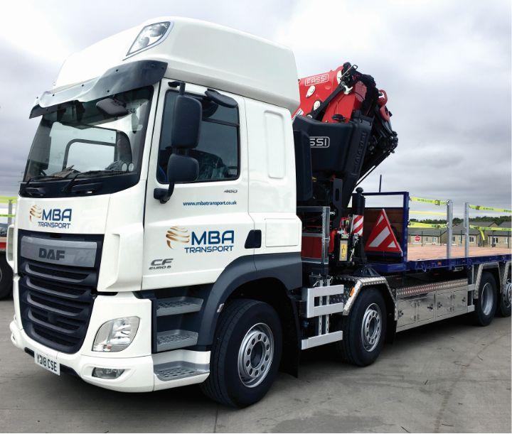 MBA transport truck